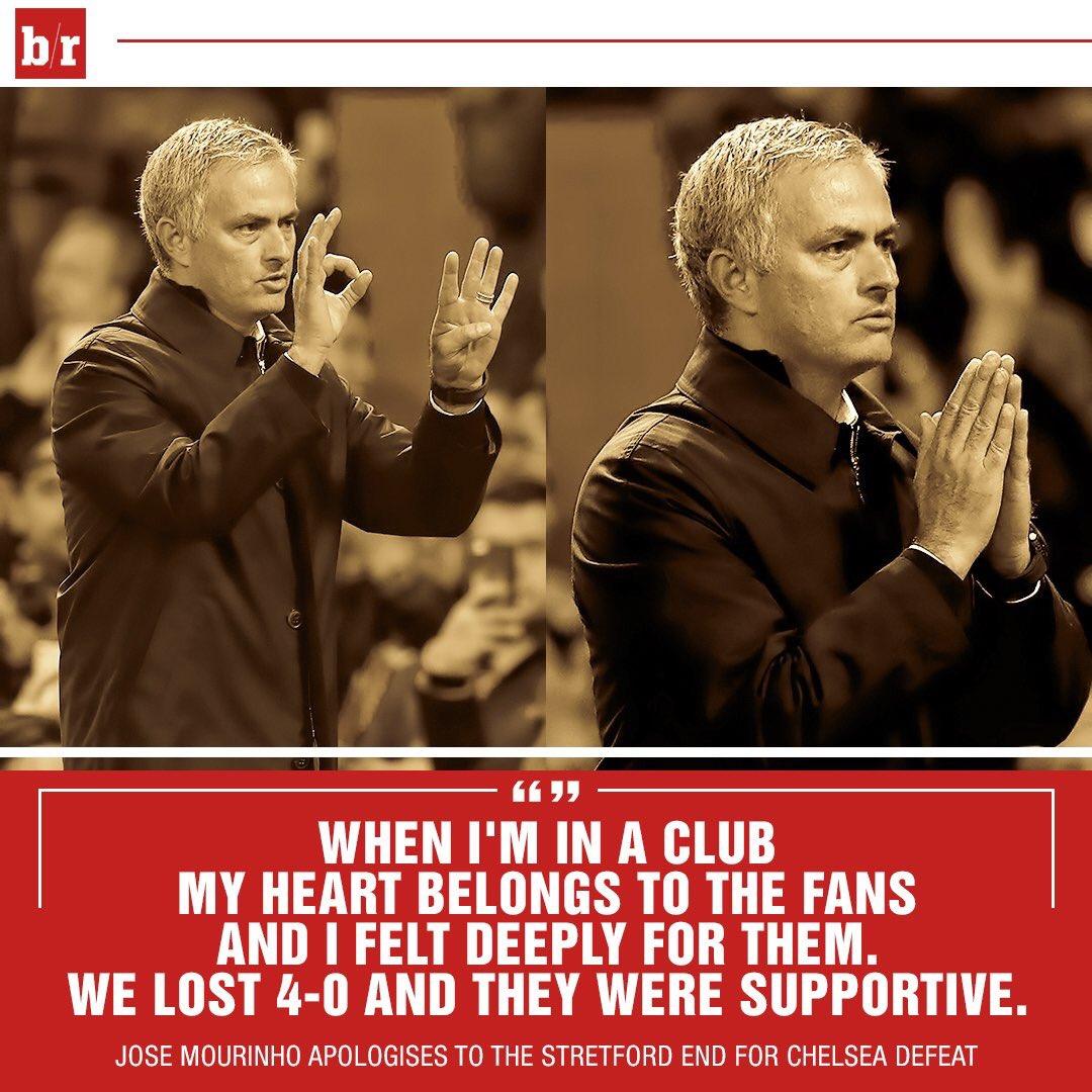 مورينيو يصالح جماهير مانشستر يونايتد بعد الفوز على مانشستر سيتى فى كأس الرابطة الإنجليزية