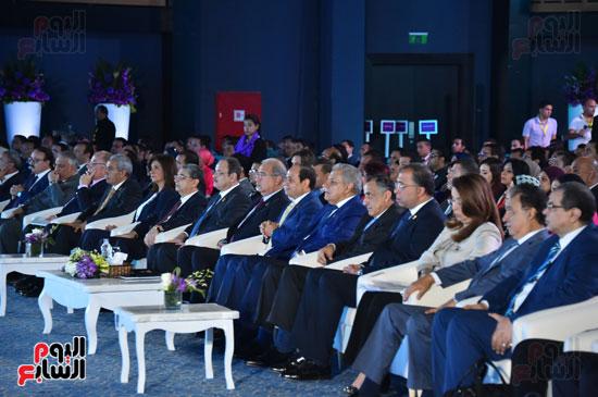 الرئيس السيسى فى مؤتمر الشباب بشرم الشيخ (5)