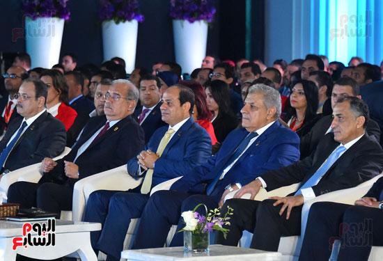 الرئيس السيسى فى مؤتمر الشباب بشرم الشيخ (1)