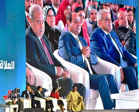 الرئيس السيسى فى مؤتمر الشباب بشرم الشيخ (7)
