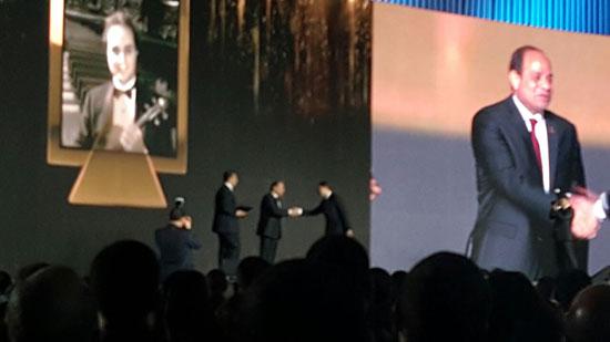 ننشر صور الفائزين بجوائز الإبداع فى ختام مؤتمر الشباب وتكريم الرئيس لهم (46)