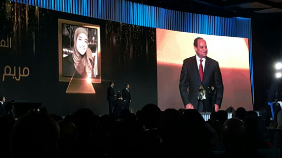 ننشر صور الفائزين بجوائز الإبداع فى ختام مؤتمر الشباب وتكريم الرئيس لهم (4)