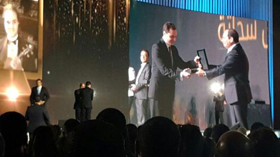 ننشر صور الفائزين بجوائز الإبداع فى ختام مؤتمر الشباب وتكريم الرئيس لهم (41)
