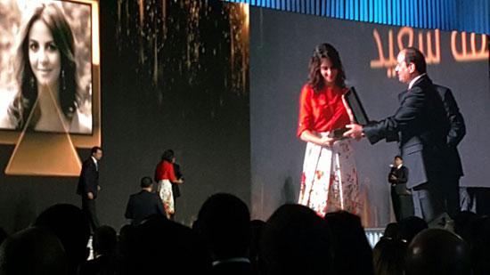 ننشر صور الفائزين بجوائز الإبداع فى ختام مؤتمر الشباب وتكريم الرئيس لهم (24)