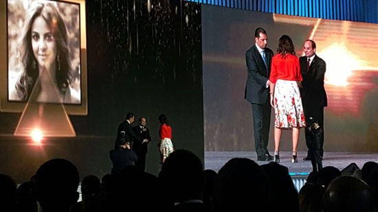 ننشر صور الفائزين بجوائز الإبداع فى ختام مؤتمر الشباب وتكريم الرئيس لهم (12)