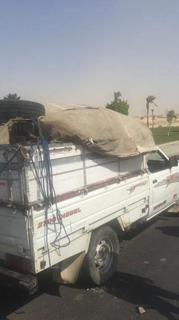 لسيارة-المستخدمة-في-تهريب-الأثيوبيين