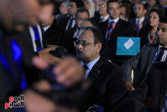 1الرئيس السيسى يشهد الجلسة الختامية لمؤتمر الشباب فى شرم الشيخ (22)