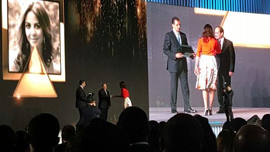 ننشر صور الفائزين بجوائز الإبداع فى ختام مؤتمر الشباب وتكريم الرئيس لهم (15)