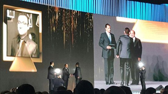 ننشر صور الفائزين بجوائز الإبداع فى ختام مؤتمر الشباب وتكريم الرئيس لهم (10)