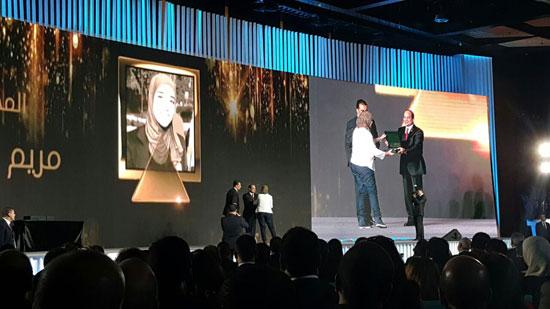 ننشر صور الفائزين بجوائز الإبداع فى ختام مؤتمر الشباب وتكريم الرئيس لهم (6)
