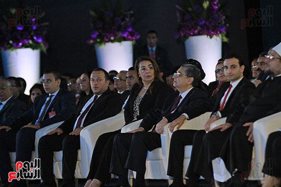 1الرئيس السيسى يشهد الجلسة الختامية لمؤتمر الشباب فى شرم الشيخ (20)