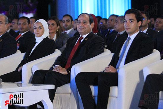 1الرئيس السيسى يشهد الجلسة الختامية لمؤتمر الشباب فى شرم الشيخ (8)