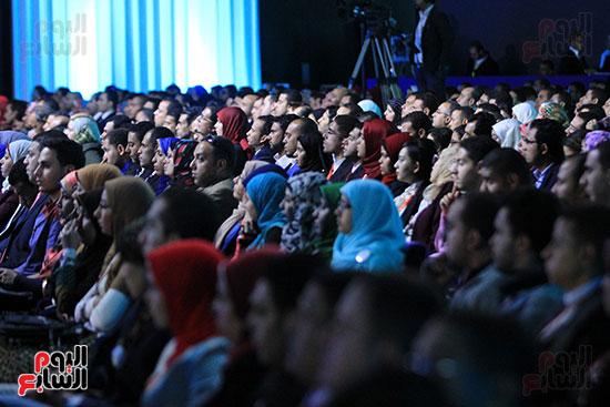 1الرئيس السيسى يشهد الجلسة الختامية لمؤتمر الشباب فى شرم الشيخ (23)