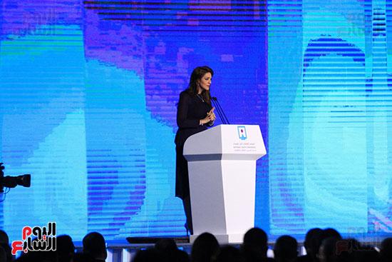 1الرئيس السيسى يشهد الجلسة الختامية لمؤتمر الشباب فى شرم الشيخ (25)