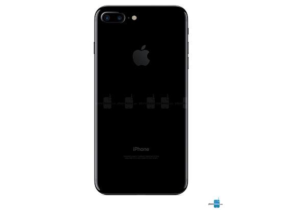 الجزء الخلفي منJet-Black-iPhone-7-Plus (1)
