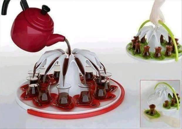 اختراع لتسهيل الشاى