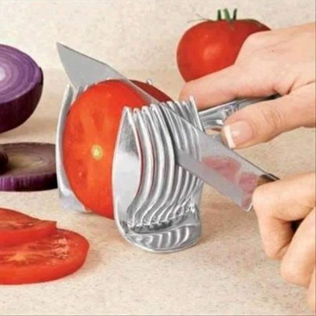 ألة تقطيع الطماطم