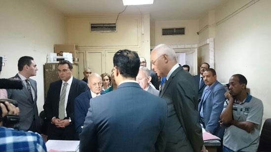 العدل تطلق مشروع ميكنة محاكم ونيابات الأسرة بالجمهورية من الأقصر (1)