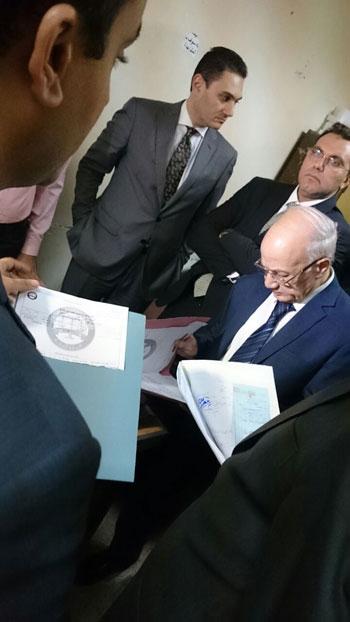العدل تطلق مشروع ميكنة محاكم ونيابات الأسرة بالجمهورية من الأقصر (10)