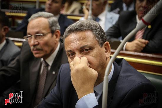 النائب احمد سعيد بالجلسة العامة