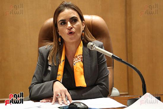 سحر نصر وزيرة التعاون الدولي