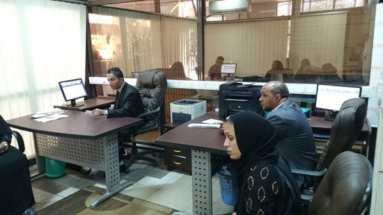 العدل تطلق مشروع ميكنة محاكم ونيابات الأسرة بالجمهورية من الأقصر (7)