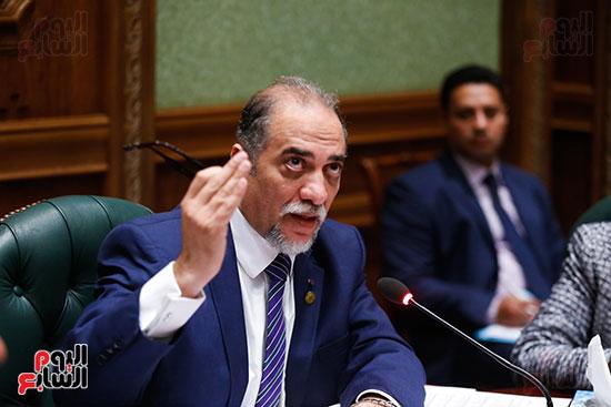 عبد الهادي القصبي رئيس لجنة التضامن