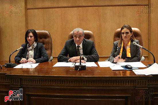 اجتماع اللجنة الاقتصادية بحضور وزيرة التعاون