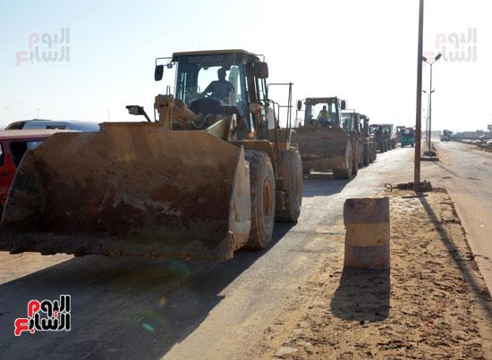 القوات المسلحة تواصل العمل لرفع أضرار السيول