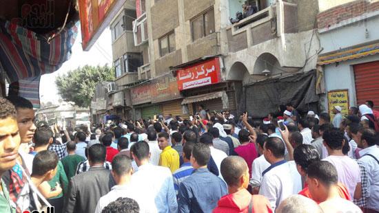 جنازة مهيبة لشهيد القوات المسلحة العقيد رامى حسنين بالبحيرة
