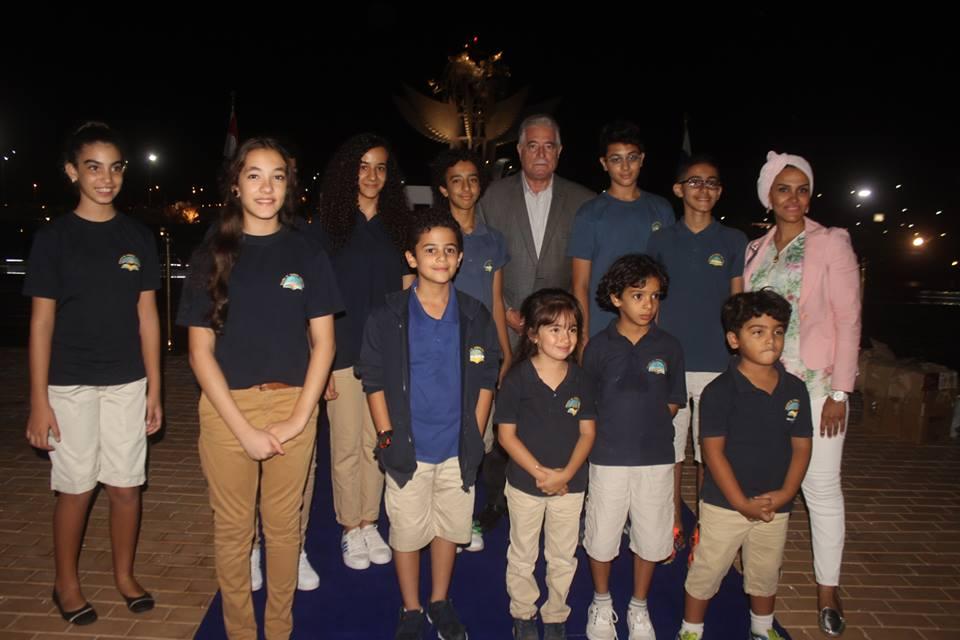 محافظ جنوب سيناء والمشاركين فى الاحتفالية