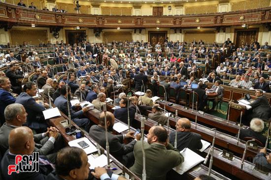جانب من الحضور في الجلسة العامة