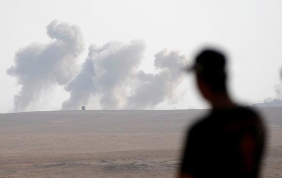 التحالف الدولى ينفذ 16 ضربة جوية ضد تنظيم داعش فى سوريا والعراق