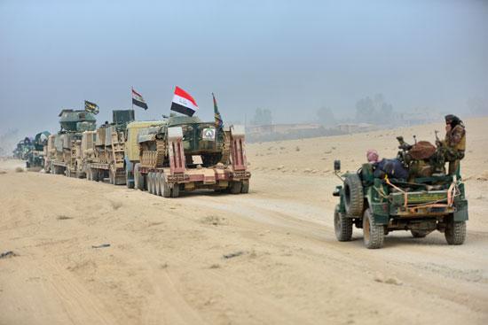 القوات العراقية تتوغل فى الموصل للمرة الأولى لتحريرها من داعش