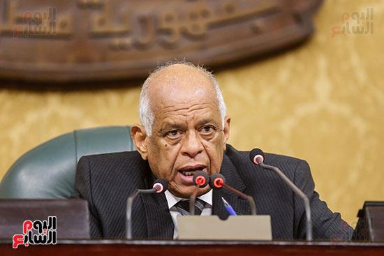 عبد العال بالجلسة العامة