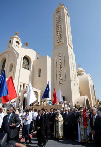 صلاة القداس على أرواح الطائرة المنكوبة بكنيسة شرم الشيخ (3)