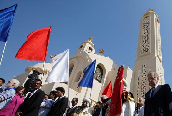 صلاة القداس على أرواح الطائرة المنكوبة بكنيسة شرم الشيخ (1)