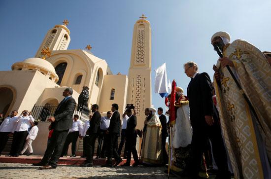 صلاة القداس على أرواح الطائرة المنكوبة بكنيسة شرم الشيخ (2)