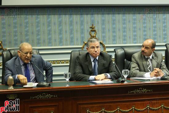 اجتماع لجنة الزراعة بحضور وزير التموين