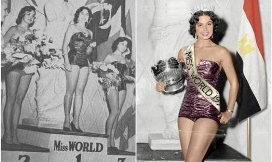 ملكة جمال العالم المصرية