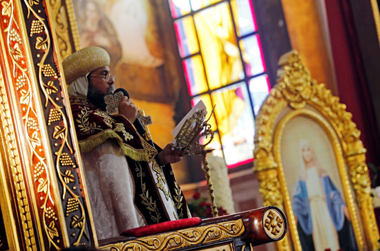 صلاة القداس على أرواح الطائرة المنكوبة بكنيسة شرم الشيخ (13)