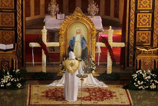 صلاة القداس على أرواح الطائرة المنكوبة بكنيسة شرم الشيخ (7)