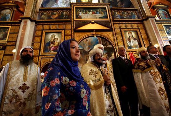 صلاة القداس على أرواح الطائرة المنكوبة بكنيسة شرم الشيخ (11)