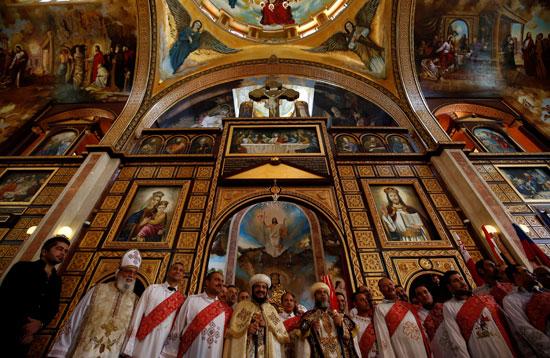 صلاة القداس على أرواح الطائرة المنكوبة بكنيسة شرم الشيخ (12)