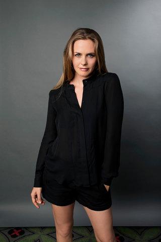 الممثلة الامريكية اليشيا سيلفرستون
