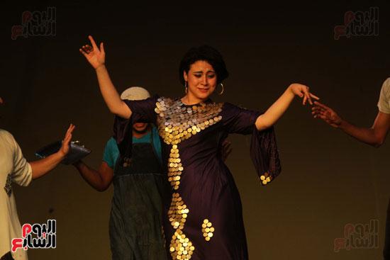 أفتتاح فاعليات مهرجان آفاق مسرحية  (4)
