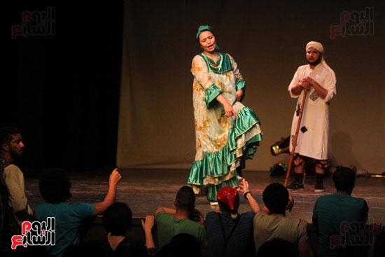 أفتتاح فاعليات مهرجان آفاق مسرحية  (8)