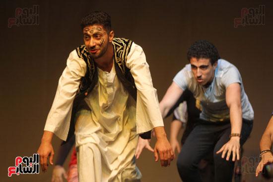 أفتتاح فاعليات مهرجان آفاق مسرحية  (37)