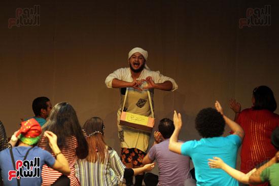 أفتتاح فاعليات مهرجان آفاق مسرحية  (42)