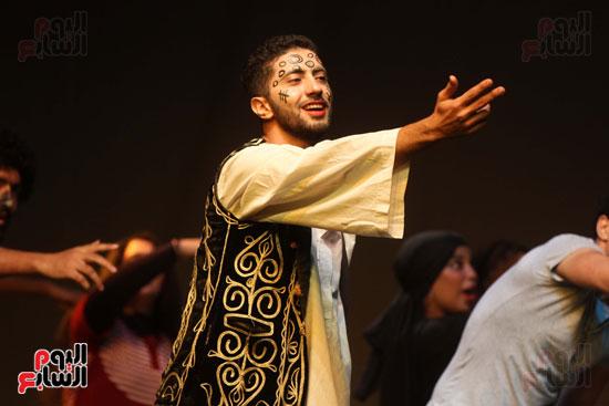أفتتاح فاعليات مهرجان آفاق مسرحية  (35)